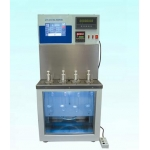 Capillary viscometer verification constant temperature bath