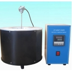 Carbon residue tester for petroleum products