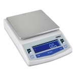 Round Platter Electronic Balance with Windshield