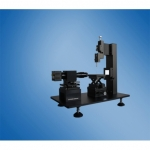 Convex surface contact angle meter